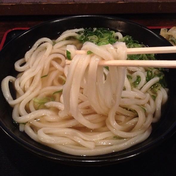 Kake Udon @ 吉祥寺麺通団