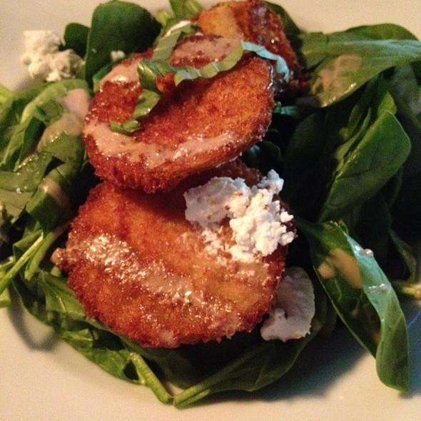 Fried Green Tomato Salad @ The Barrelhouse