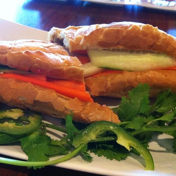 Pork Banh Mi @ Saigon Bistro