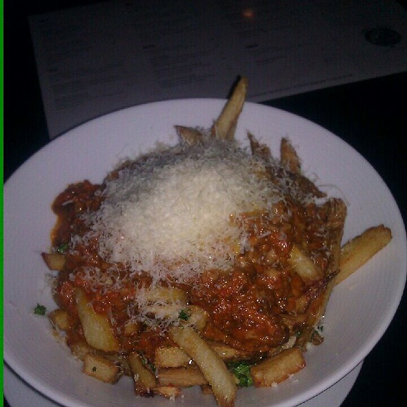 bolognese fries @ Three Aces