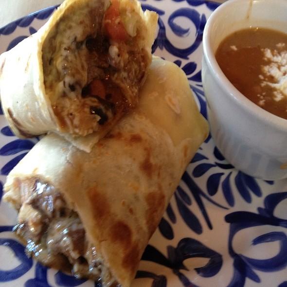 Kobe Beef Burrito - Ortega's  A Mexican Bistro, San Diego, CA