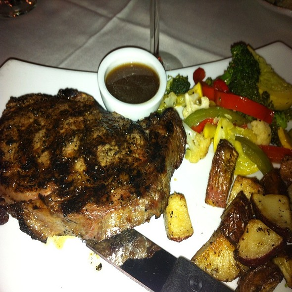 Ribeye With Demi Glaze - 17Hundred90 Inn and Restaurant, Savannah, GA