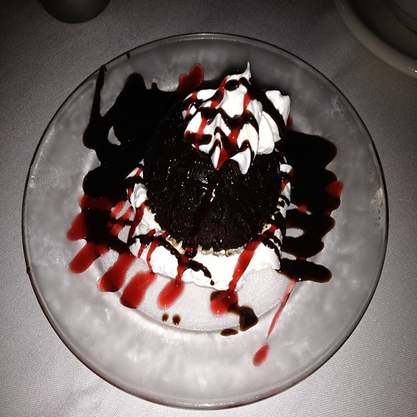 Chocolate Bomb - 17Hundred90 Inn and Restaurant, Savannah, GA