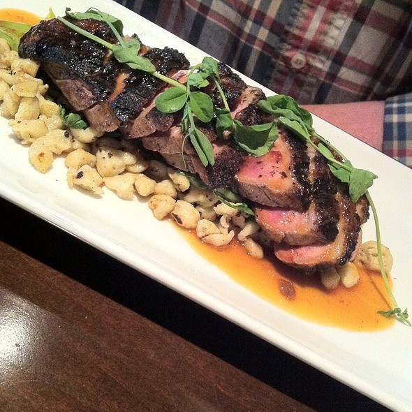 Duck And Spaetzle! @ Walter's