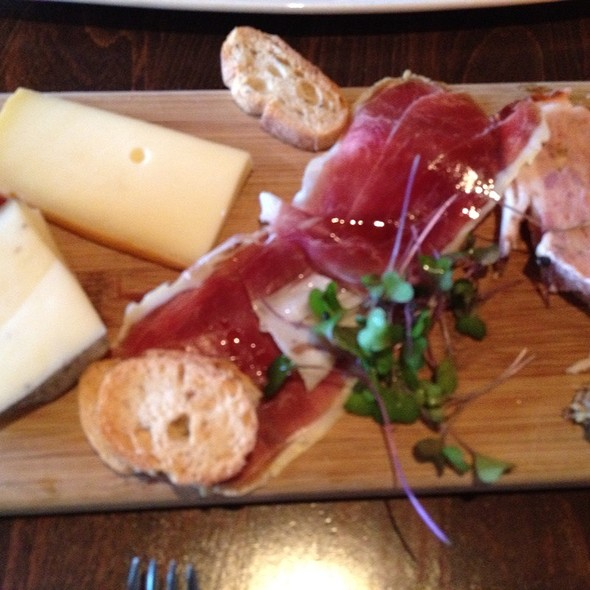 cheese & charcuterie plate @ 8407 kitchen bar