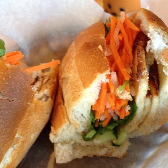 Grilled Tofu Ruelke Sandwich at Bun Me!