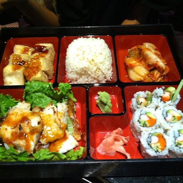 Fish Bento @ Seoul Chako