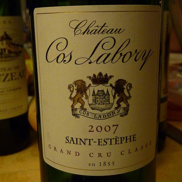 Saint Estèphe @ Château Cos Labory 2007