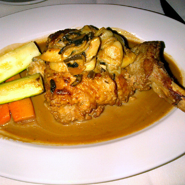 Veal Chop @ Coal Fired Bistro