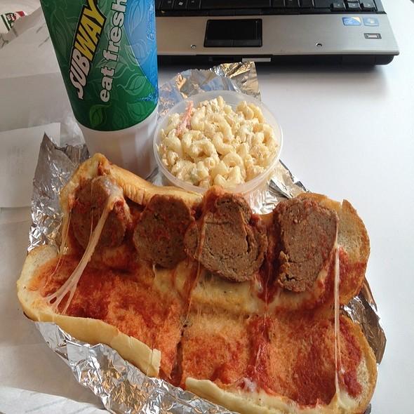 Meatball Parmegian Wedge @ Jazzaria Wilton Pizza