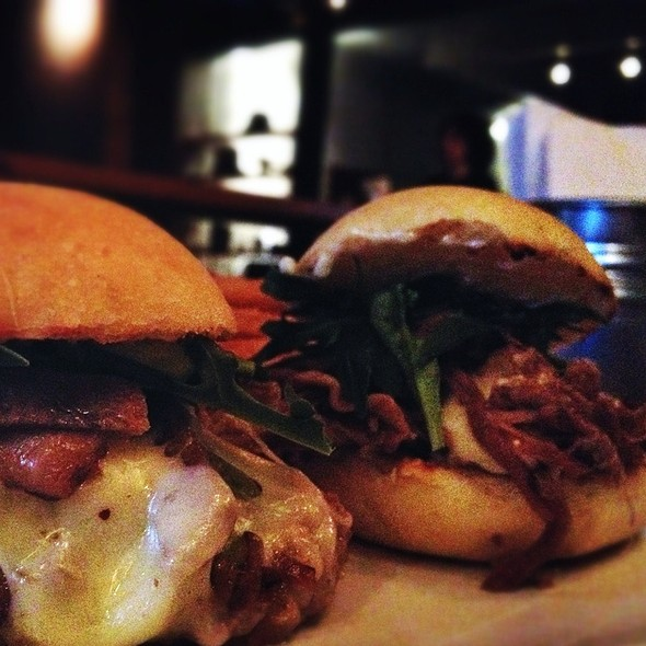 Rib, And Pork Belly Sliders @ Wendlandt Cervecería