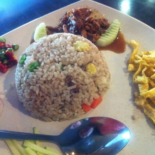 Thai Belacan Fried Rice @ Thai Kopitiam