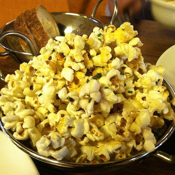 Maple Bacon Popcorn - Alobar Restaurant, Long Island City, NY