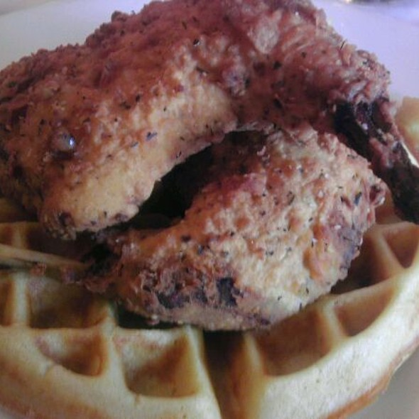 Fried Rabbit and Waffles - Jolie's Louisiana Bistro, Lafayette, LA