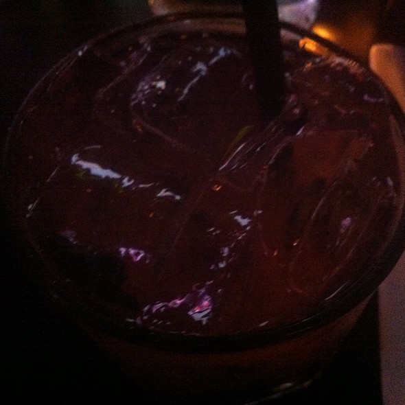 Blue Malibu Cocktail - Bull and Bear, Chicago, IL