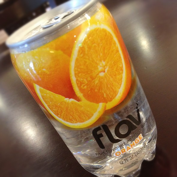 Flav Orange Water @ Greenland Supermarket