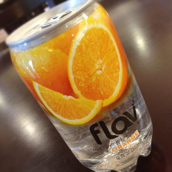 Flav Orange Water @ Greenland Supermarket