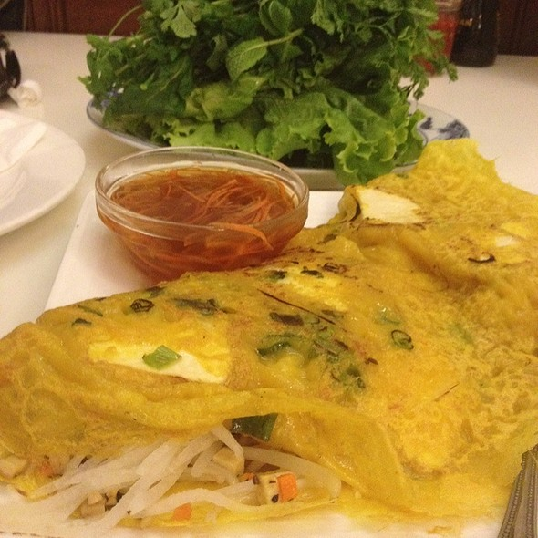 Vietnamese Crepe @ Golden Era