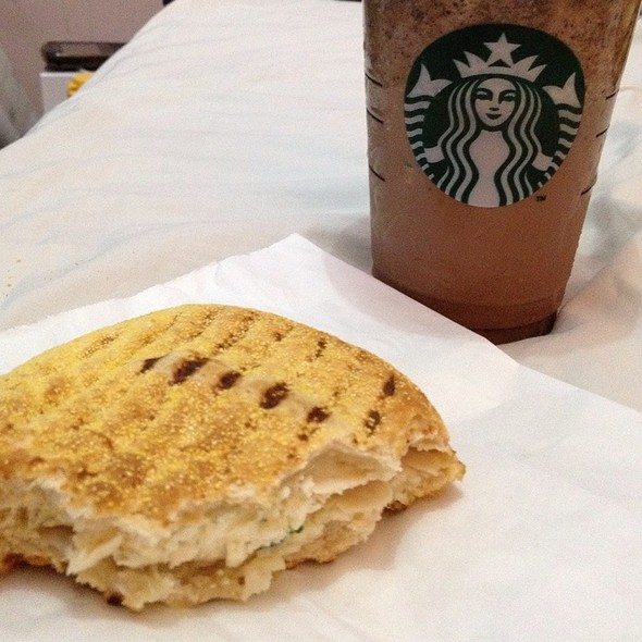 Chicken Turkey And Egg Sandwich @ Starbucks