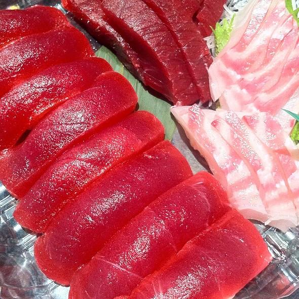 Wild Blue Fin Tuna & Madai @ Ai Japanese Restaurant & Lounge