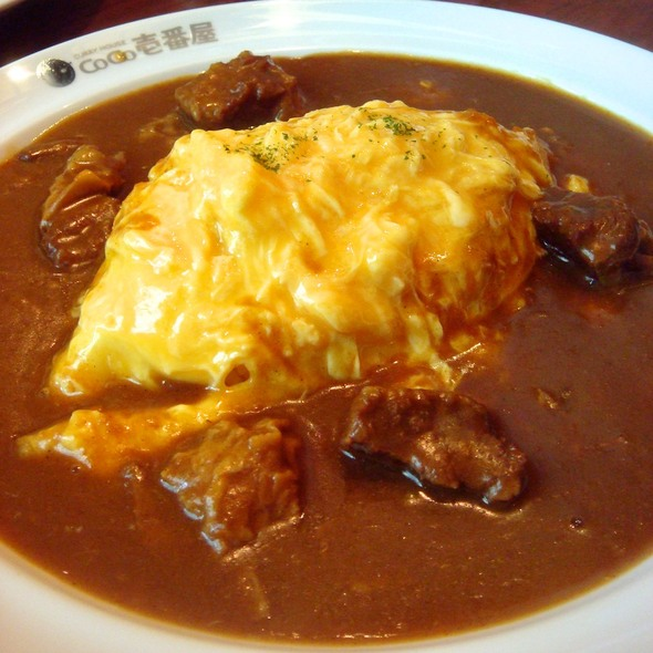 Beef Omelet Curry @ CURRY HOUSE CoCo ICHIBANYA (The Esplanade)