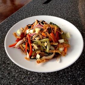 Korean Wonton Salad