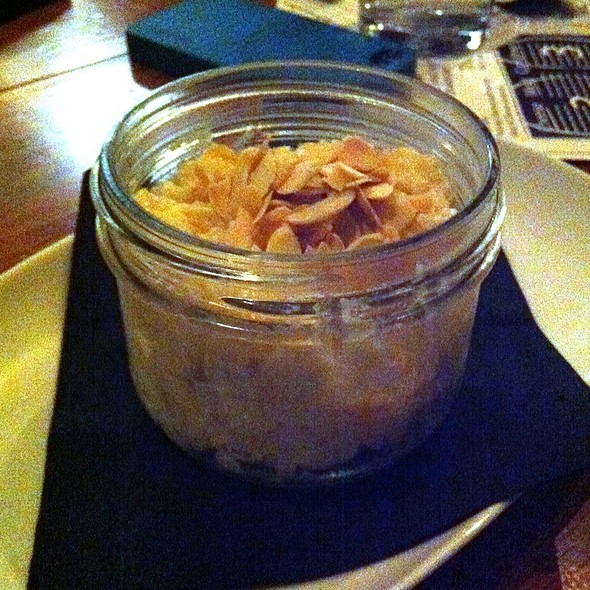Candied Ginger & Apricot Rice Pudding - Salt Tasting Room, Vancouver, BC
