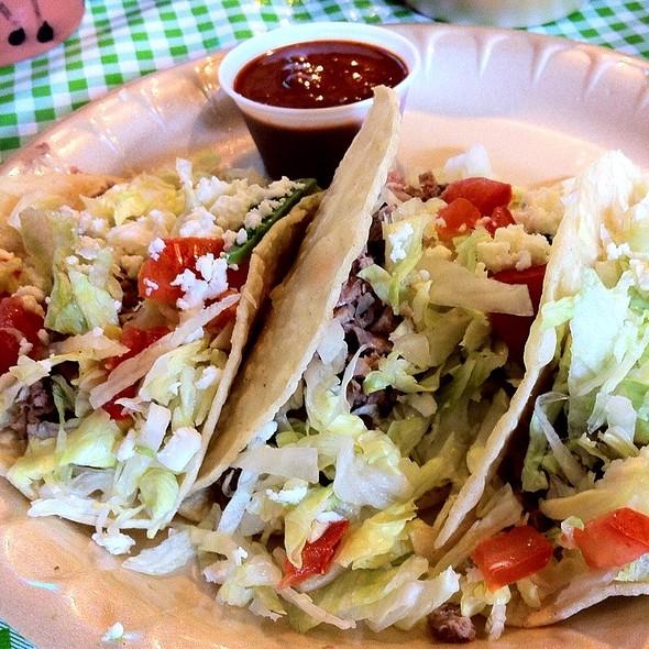 Smoked Brisket Tacos @ Rio Grande Grill