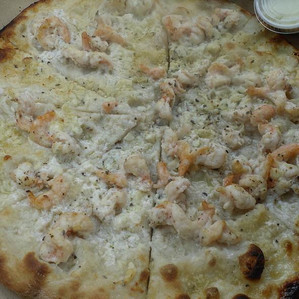 White Pizza with Shrimp @ Pepe Frank Pizzeria Napoletana