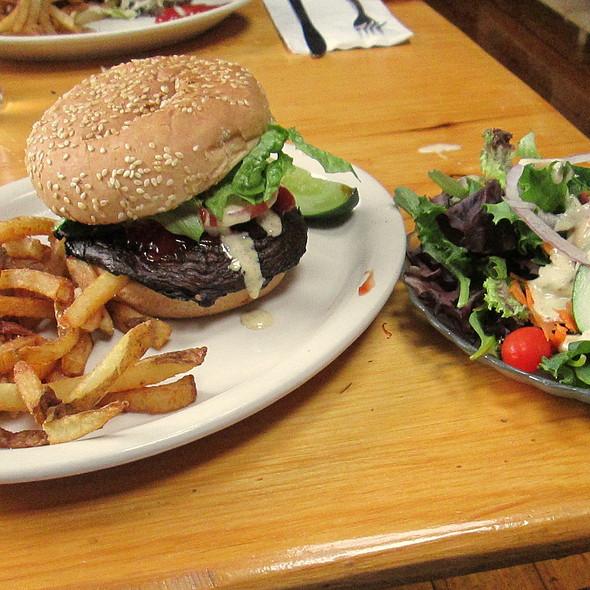 Portabella Mushroom Burger @ The Lighthouse Restaurant