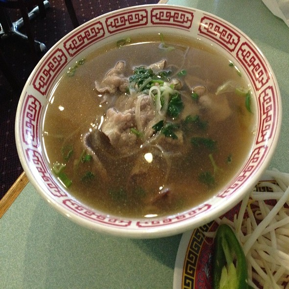 Beef Pho @ Golden Flower Vietnamese