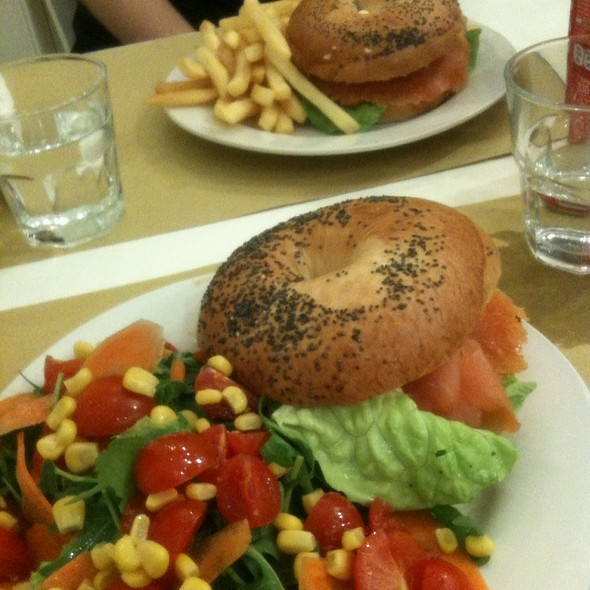 Salmon Bagel @ Bakery House