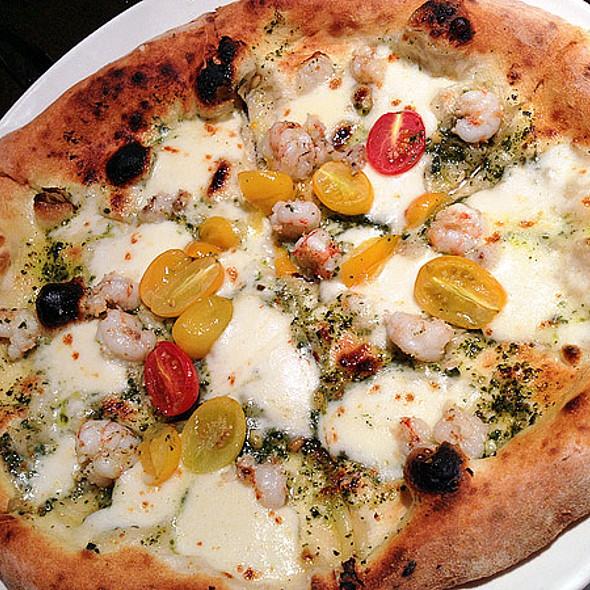 Rock Shrimp Pizza @ Flour + Wine