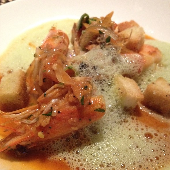 North Carolina White Shrimp @ Vermillion Restaurant