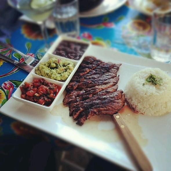 carne asada - Esperanto Restaurant, New York, NY