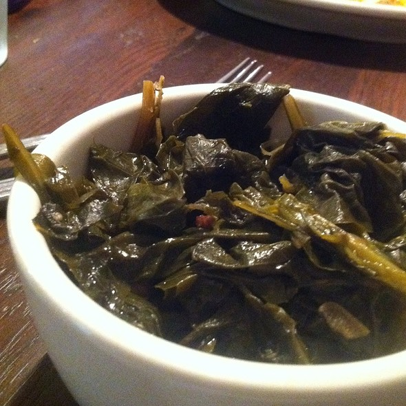 Collard Greens @ Bobwhite Counter