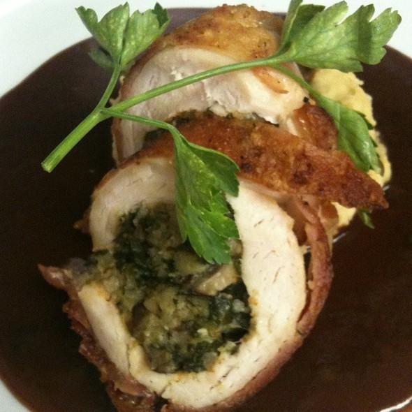 Prosciutto Wrapped Free Range Chicken @ Cafe Margaux Restaurant