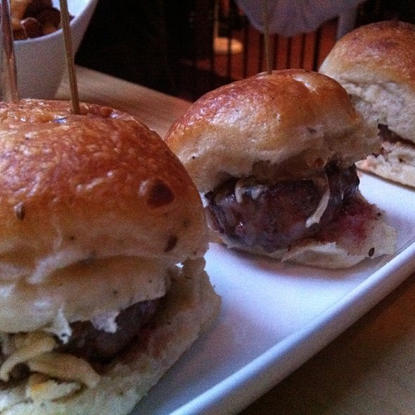 Sliders - Tavern 29, New York, NY
