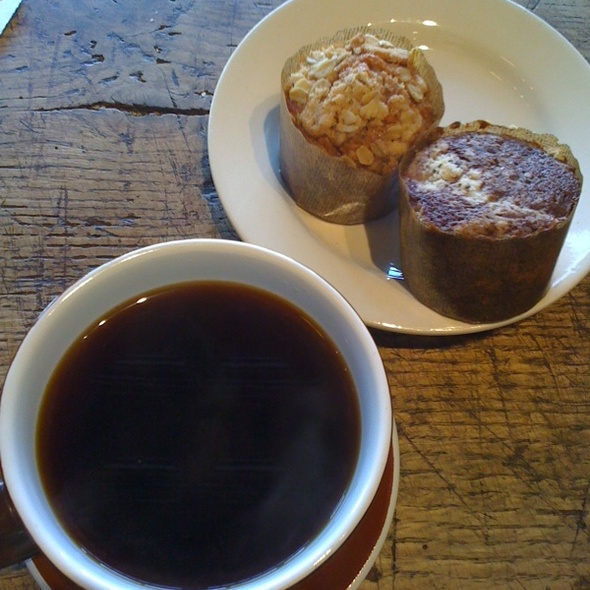 Ethiopian Blend Sidamo Coffee, Cappucino Muffin And Oat Cranberry Muffin