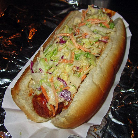 Spicy Redneck Hot Dog @ Crif Dogs Ent Inc