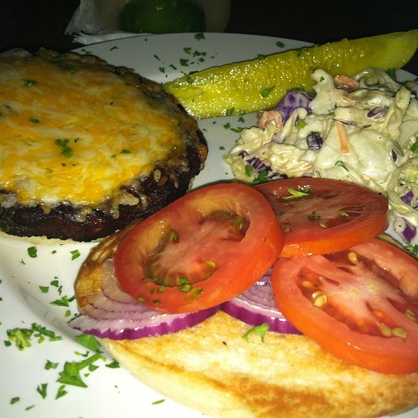 Black Bean Veggie Burger @ Lost & Found Saloon