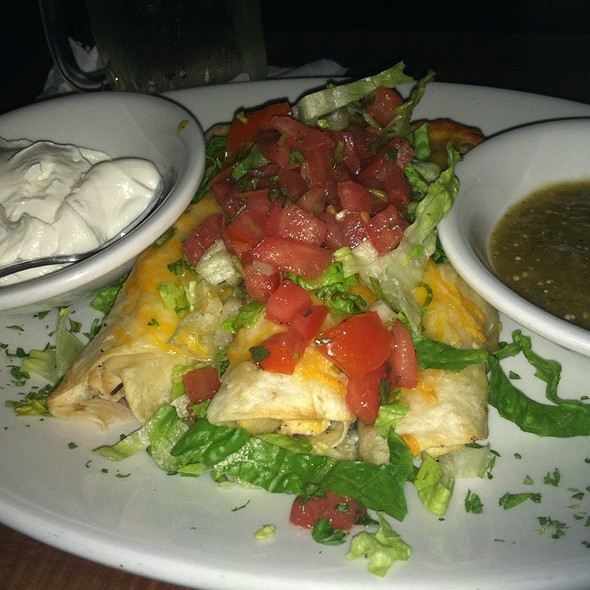 Chicken Enchilada @ Lost & Found Saloon