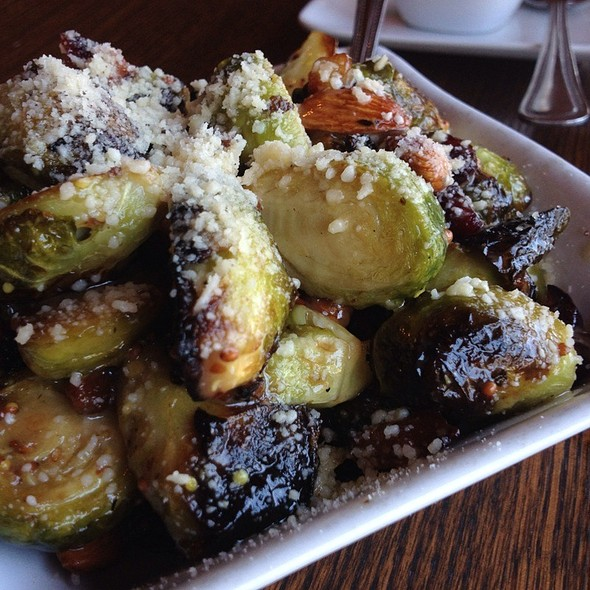 Roasted brussels sprouts @ Pizza Bella