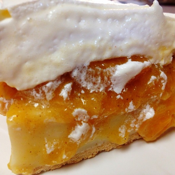 Peach Cream Pie @ Donald Citrano's Coffee Shop Café
