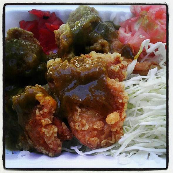 Chicken Karage Curry Rice @ JapaCurry Truck