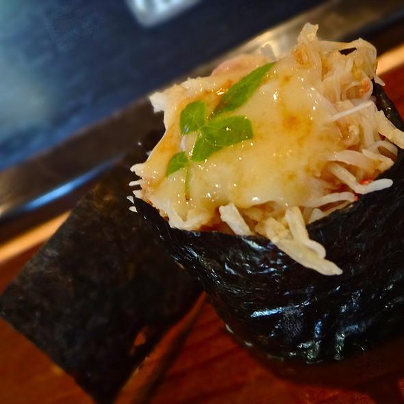 Kegani Sushi <Seasonal>/ Horse Hair Crab/ Saikyo Miso Butter/ Hokkaido @ Sushi Ran