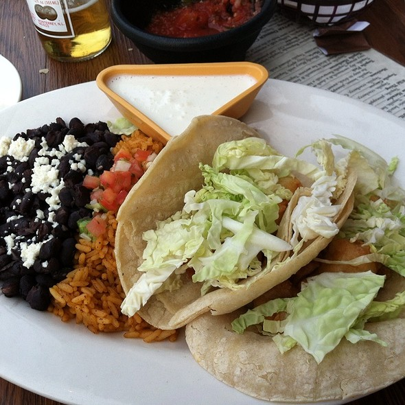 Baja Fish Tacos @ Tala Vera, California-Mexican Cantina