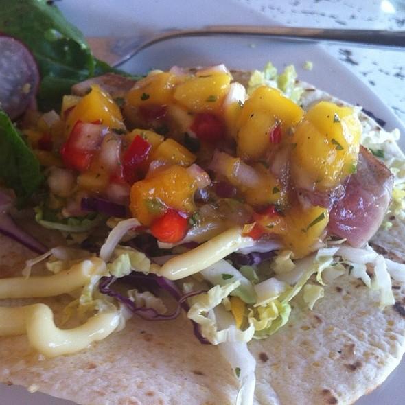 Ahi Tuna Tacos - Seasons Rotisserie & Grill, Albuquerque, NM
