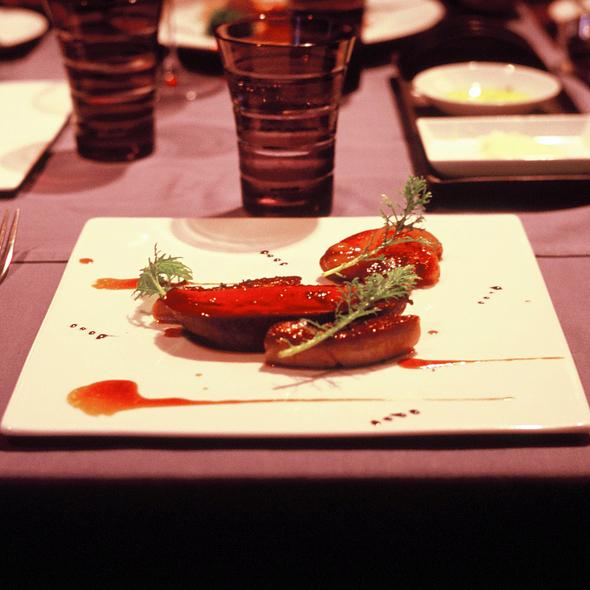 Canard en foie gras @ La Table de Joel Robuchon