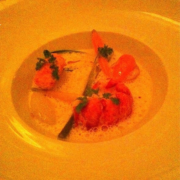 Butter-Poached Nova Scotia Lobster @ Eleven Madison Park Restaurant